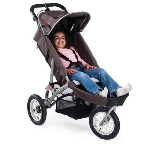 Special Tomato Jogger Pushchair Folds Compactly